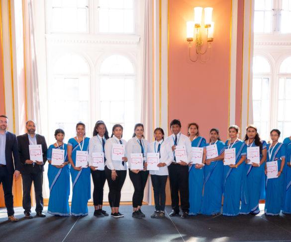 Urkundenverleihung durch den Regierenden Bürgermeister von Berlin im Juni 2018