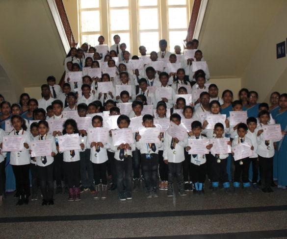 Tamilischer Sprachwettbewerb im Dezember 2019