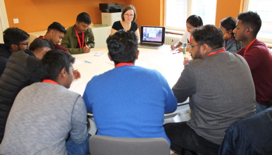 Preparation of presentation workshops 2019